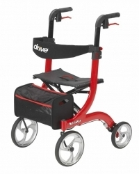 All-In-One Transport Chair/Rollator